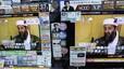 Varios televisores de una tienda de electrónica en Tokio ofrecen la noticia de la muerte del líder de Al Qaeda.