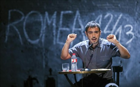 Julio Manrique, en la presentacin de la temporada 2012-13 del Teatre Romea.