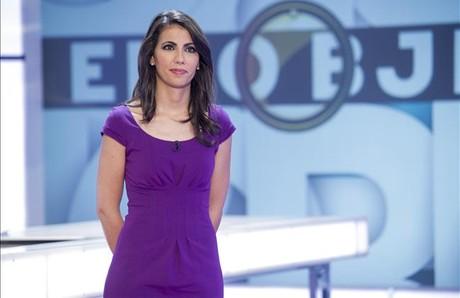 Ana Pastor, en el plató del programa 'El objetivo', de La Sexta.