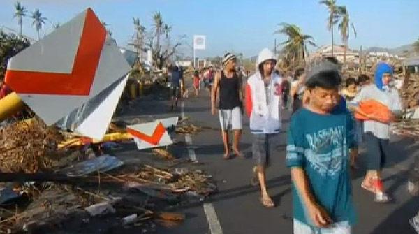 Devastación total en Tacloban (Filipinas) tras el paso del tifón Haiyan