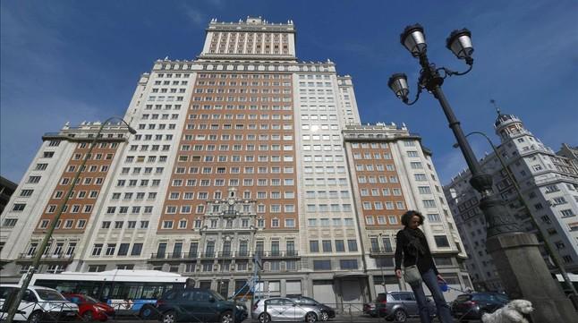 El Edificio España, de Madrid.