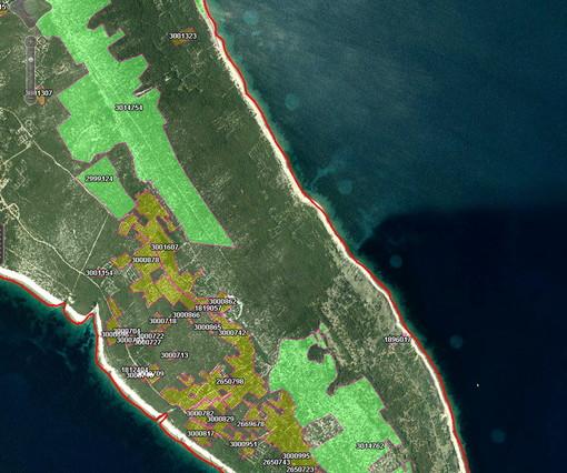 Imagen de los círculos tomada por la asociación de protección del entorno humano Sunce de Split.