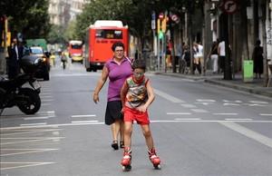 mjibanez35636329 barcelona 22 09 2016 barcelona dia sin coches en la zona de160922165037