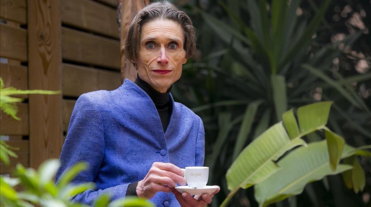 Madame Nielsen, en una visita reciente a Barcelona.