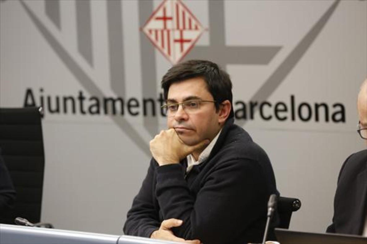 El alcalde accidental de Barcelona, Gerardo Pisarello.