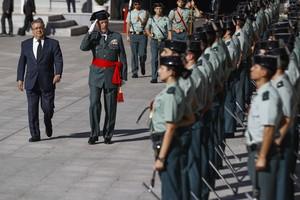 Zoido despedida del general Pablo Martin Alonso