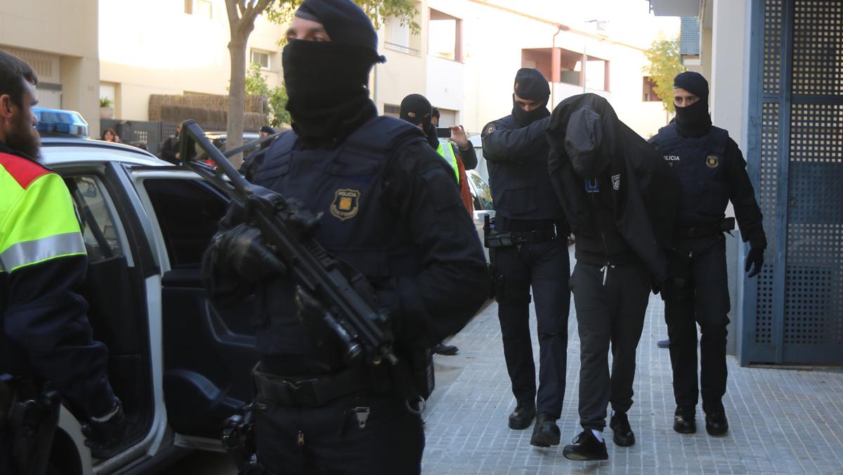 Operación contra el yihadismo en Sant Pere de Ribes