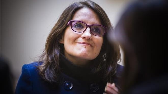 'Escrache' de l'extrema dreta a Mónica Oltra