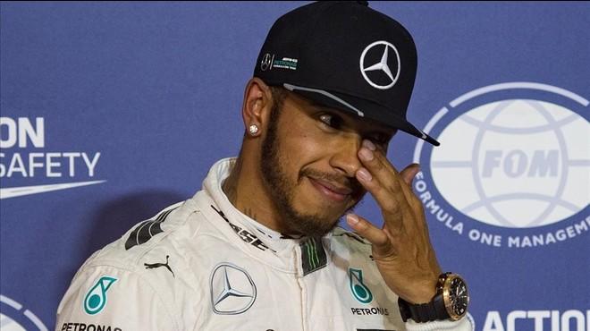 Hamilton aconsegueix la seva 'pole' número 50 en la classificació del GP de Bahrain 2016