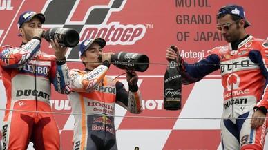 El arrojo de Márquez hace que Honda lidere todas las clasificaciones