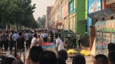 Siete muertos en la explosión en una guardería en China