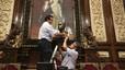 El pleno de Barcelona decidirá por mayoría cualificada si repone o no el busto del Rey