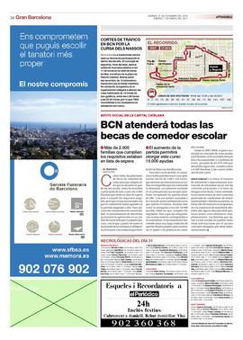 Bcn atender todas las becas de comedor escolar for Becas comedor barcelona