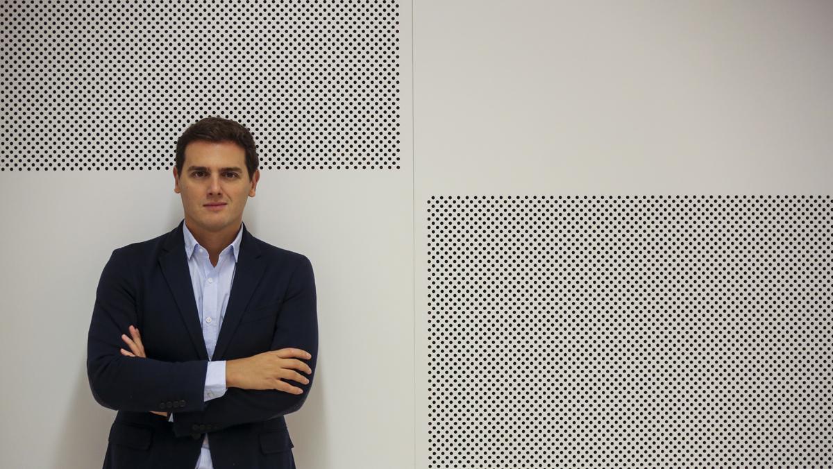 Entrevista con Albert Rivera, lider de Ciudadanos