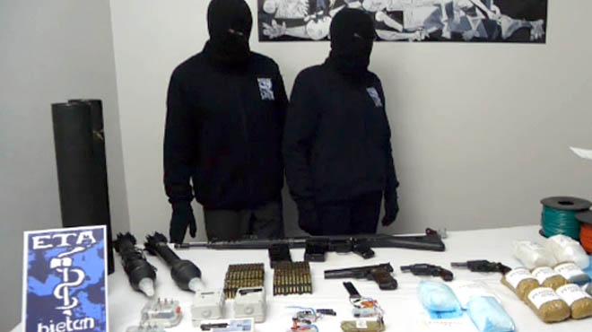 ETA anuncia el seu desarmament unilateral per al 8 d'abril