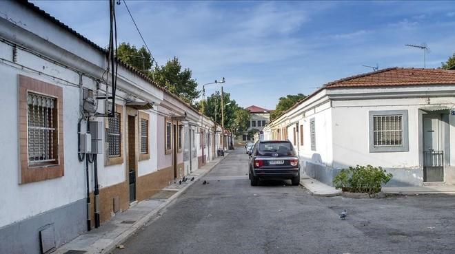 Zona de las Casas Baratas del barrio de Bon Pastor.