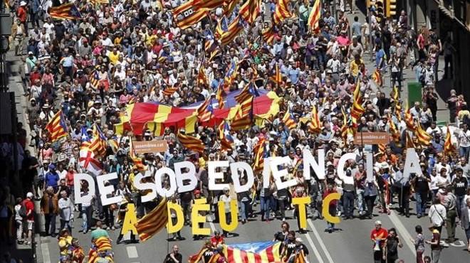 El Tribunal Constitucional en el laberint català