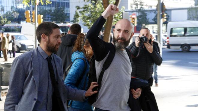 La CUP exigeix una comissió que investigui el 'caso Garganté' tras la seva absolució