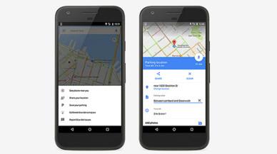 Google Maps ara et recorda on has deixat el cotxe