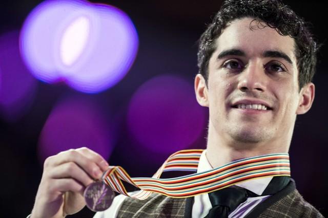 Javier Fern�ndez sella una temporada de ensue�o con un bronce en el Mundial