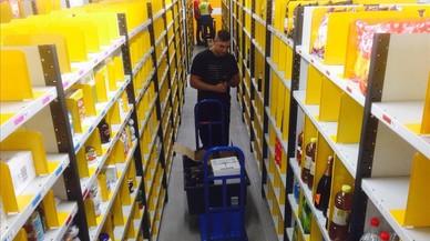 Amazon llança a Barcelona l'entrega en una hora de productes frescos