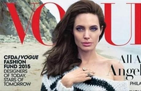 Angelina Jolie posa por primera vez con toda la familia para 'Vogue'.
