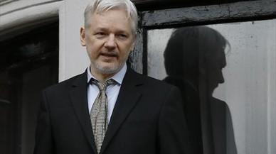 Assange reconoce que colabora con la web del referéndum de Catalunya