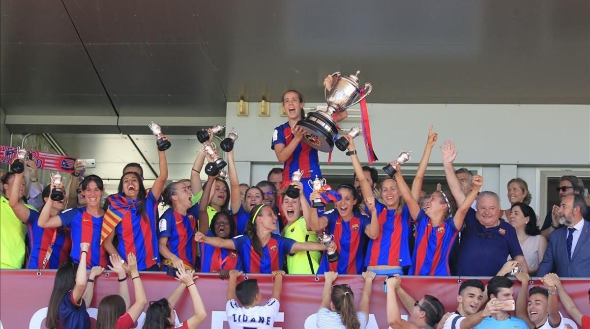 El Barça supera al Atlético y logra su quinta copa