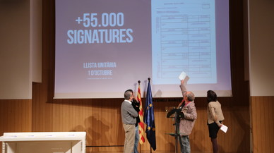 Sectors de l'independentisme llancen una recollida de firmes per a una llista unitària