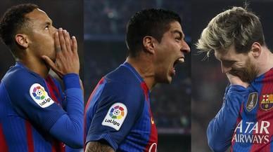 El trident del Barça no xuta