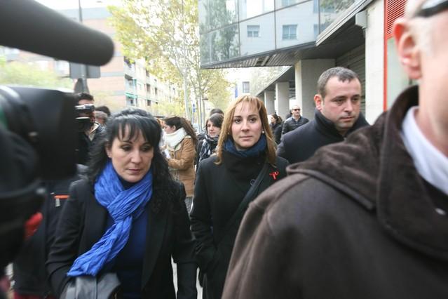 Concluye la declaraci�n judicial de la esposa y el hermano del alcalde de Sabadell