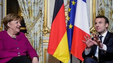 """Macron: """"La ambición europea de Francia necesita a Alemania"""""""