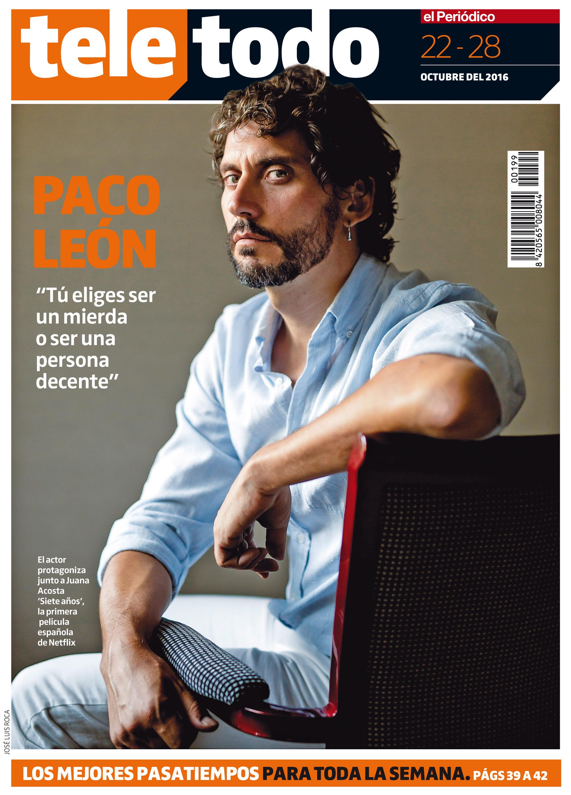 Paco Le�n pasa 'Siete a�os' en Netflix