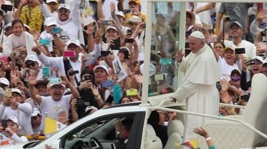 El Papa llama a evitar las venganzas y revanchismos en Colombia