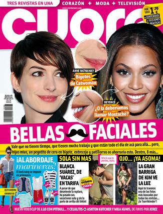 'Cuore' enseña el bigote de Beyoncé