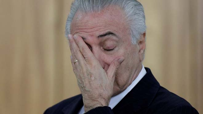 El president del Brasil és acusat de corrupció