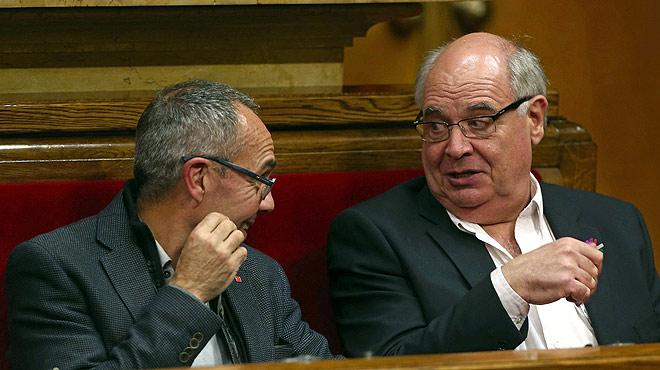 """En su intervención durante el pleno de investidura de Carles Puigdemont, Rabell ha tildado el proceso independentista de """"engañifa"""" y de """"fanfarronada""""."""