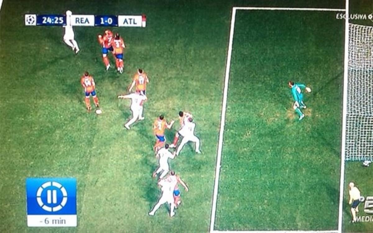 Ramos marc en claro fuera de juego for Estar fuera de juego