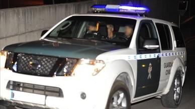 Villar passa la nit als calabossos de la Guàrdia Civil
