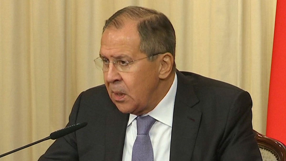 """Rusia califica de """"histeria"""" las acusaciones de fomentar el independentismo."""