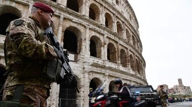 Roma, ciudad blindada