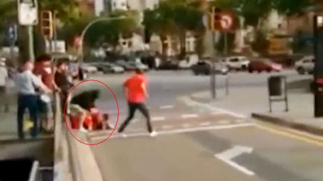 El fiscal pide más de tres años de cárcel a cuatro independentistas por agredir a seguidores de 'La Roja'