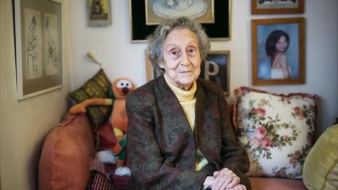 Pepita Pardell: «Jo volia dibuixar, no volia ser dependenta»
