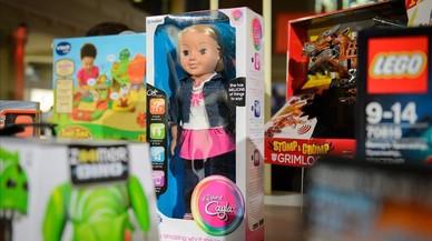 Una nina que parla, prohibida pel risc d'espiar nens a Alemanya