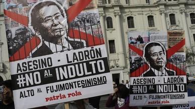 Famílies de víctimes de Fujimori recorreran el seu indult davant la justícia