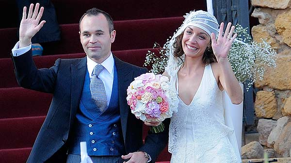 La boda de Andrs Iniesta