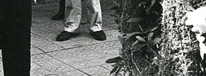 El entonces presidente de la Generalitat, Jordi Pujol, en la ofrenda al monumento de Rafael de Casanova, en la Diada de 1984.