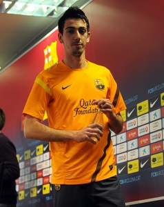 Isaac Cuenca, a finales de febrero del 2012.
