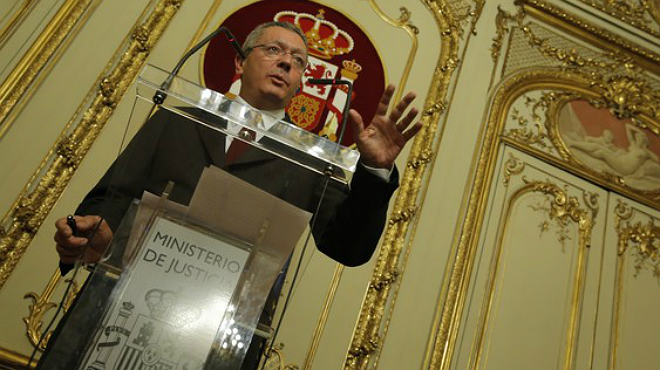 Gallardón dimiteix tras tumbar Rajoy la seva reforma de lavortament