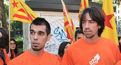 Guifr� Peguera y Jordi Nogu�, este jueves en Madrid.